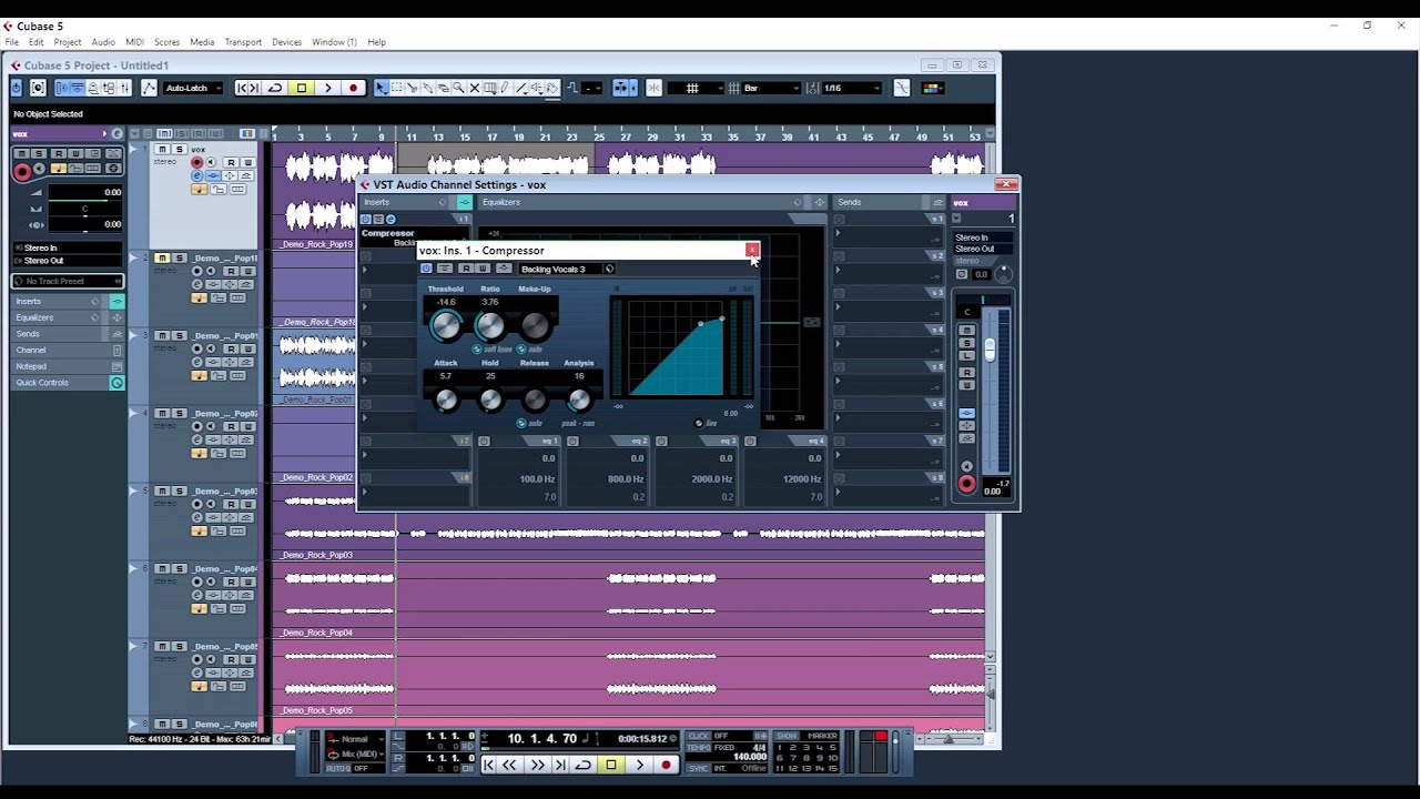 How To Use Auto Tune In Cubase 5