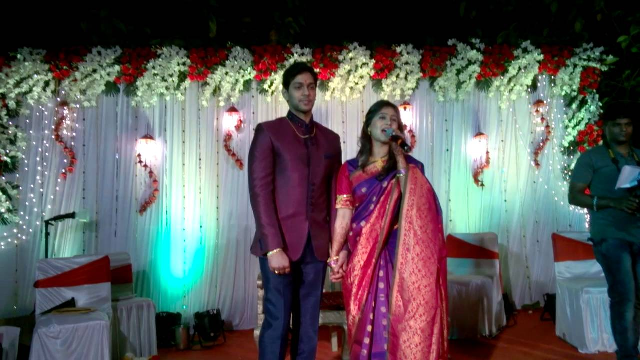 Mrunal dusanis with neeraj after engagement ring youtube thecheapjerseys Images