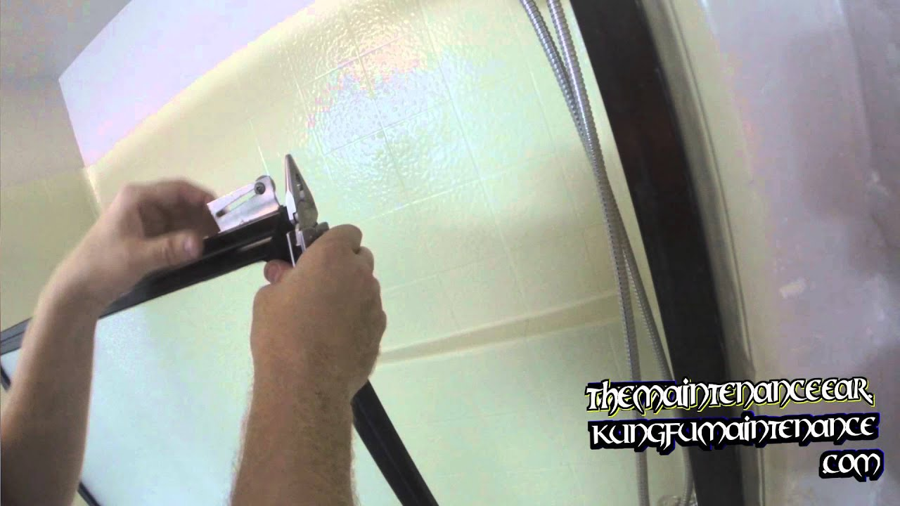 Bad Bearings How To Replace Tub Shower Door Roller Wheels
