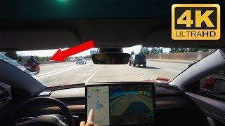 IS FULL SELF DRIVING WORTH IT? Tesla Auto Lane Change Hesitates 45 Seconds