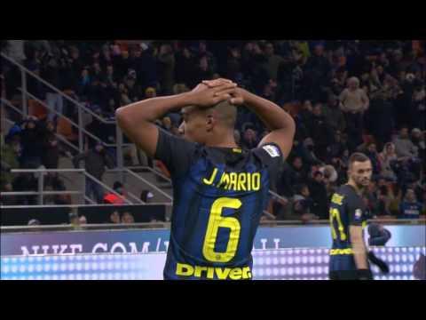 Mancato gol di Joao Mario - Giornata 14 - Serie A TIM 2016/17