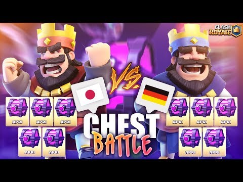 [ FINALE ] MONDIALI su Clash Royale: CHEST BATTLE! Giappone vs Germania! Clash Royale ITA!