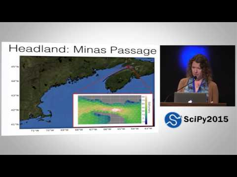 Python in Tidal Energy  Three Tools Used in a Collaboration on Array Optimization | SciPy 2015 | Kri