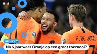 Plaatst Nederland zich vanavond voor het EK?