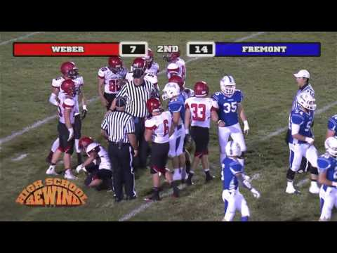 High School Rewind - Weber @ Fremont (Football) {10-9-14}