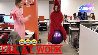 Funny Fails Video of People at Work 😂 Best Hilarious Epic Vine I TRY NOT TO LAUGH