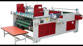Video Semi Automatic Corrugated Carton Folding Gluing Machine / Corrugated Box Folder Gluer download MP3, 3GP, MP4, WEBM, AVI, FLV Juli 2018