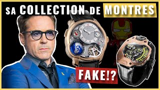 Robert Downey Jr (Iron Man) : Watch Collection !