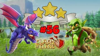 *NEW* HIGH PRESSURE - GOBLIN MAP - 3 STAR WITH DRAGONS - LEVEL 56 - CLASH OF CLANS
