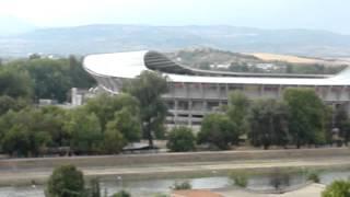 Panorama Skopje (Macedonia), wrzesień 2012 r.
