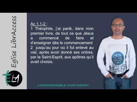 N°2   L'Indispensable Saint Esprit