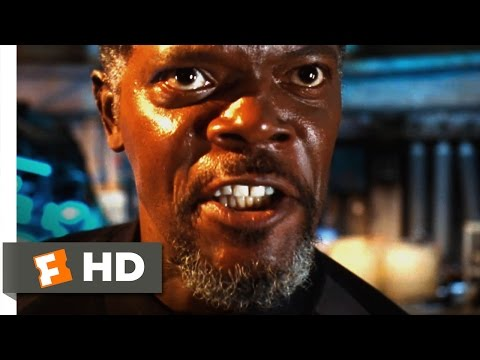 Deep Blue Sea - Russell Is Eaten Scene (7/10) | Movieclips
