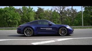 Новый Porsche 911 Carrera 4S 2019: обзор и тест-драйв от Елены Добровольской