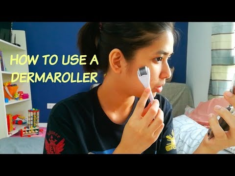 How to fade pimple or acne scars using a Dermaroller (TAGALOG)