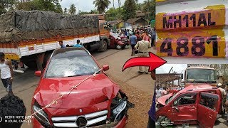Truck Involved In Accident At Old Goa Has Two Different Number…