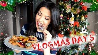 DIY Коледни Сладки ❄︎ VLOGMAS •2016•