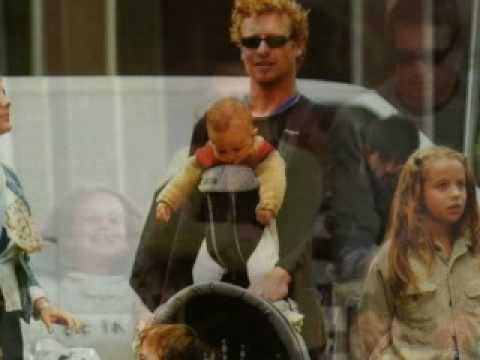 Simon Baker & family