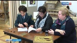 Сотрудники таможни передали конфискованные ценности Тверскому музею