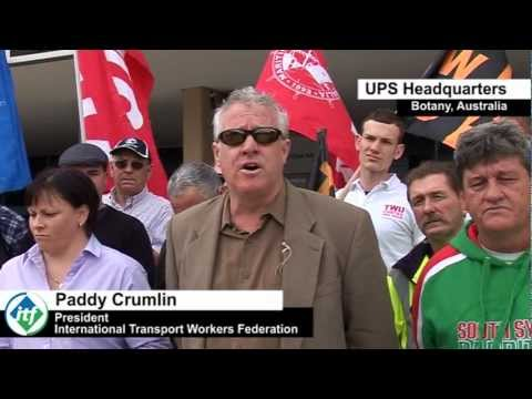International Transport Workers Federation - UPS Protest