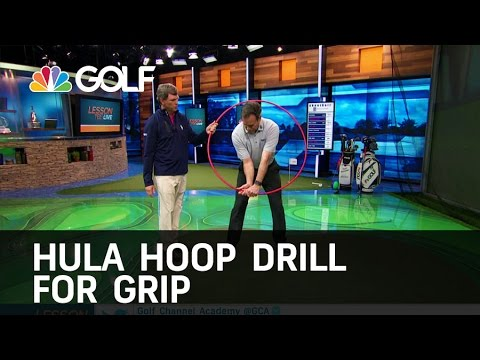 Hula Hoop Drill to Improve your Golf Grip | Golf Channel
