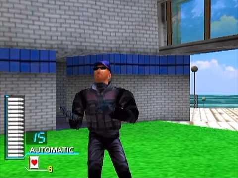 Virtua Cop 2 (PS2) - Left Course-