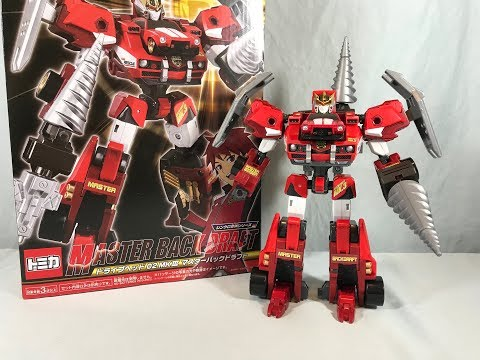Tomica Hyper Rescue Drive Head 02 MK III Master Back Draft Review