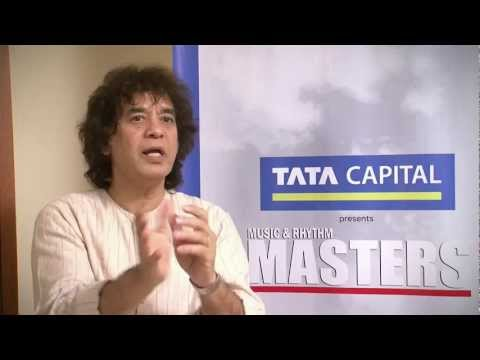 Interview with Ustaad Zakir Hussain - Music & Rhythm Masters