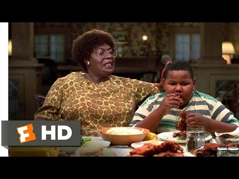 Klump Family Dinner  The Nutty Professor 3/12 Movie  1996 HD