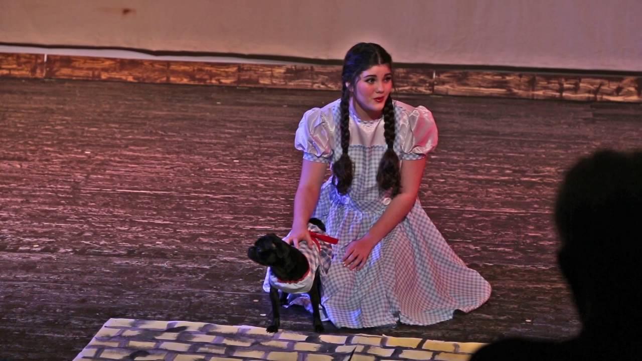 Dorothy somewhere over the rainbow