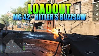 Loadout MG 42 Hitler's Buzzsaw! | Battlefield 5 Weapon Review