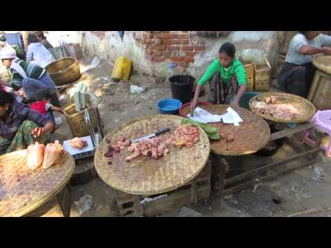 Village life in Myanmar