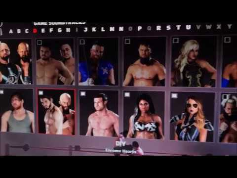 Funny WWE 2K18 Theme Song Glitch