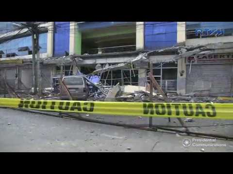 Briefing on the Damages Caused by the 6 7  Magnitude Earthquake in Surigao  2/12/2017