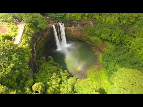 Wailua Falls by drone