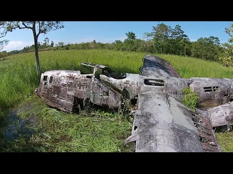 Pacific Wrecks Drone B-24 Liberator Papua New Guinea