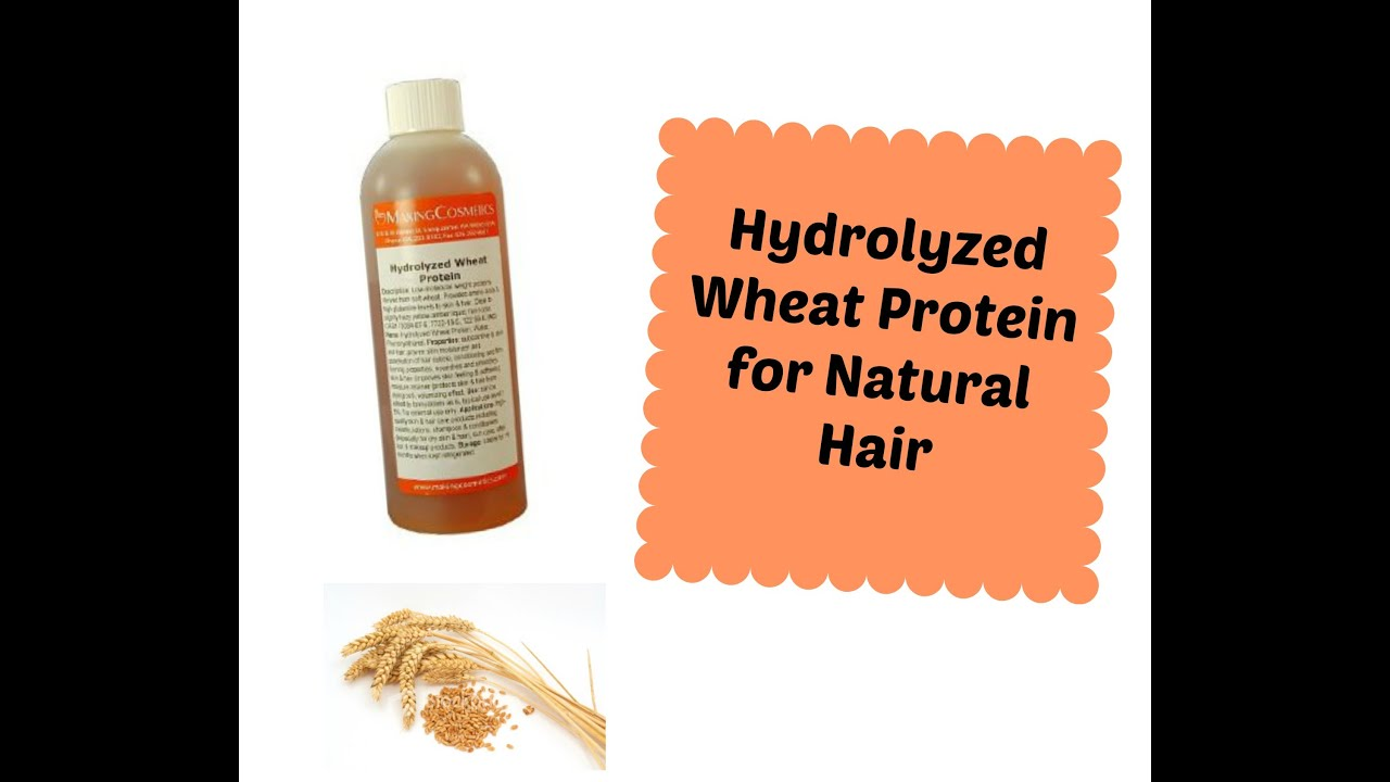 Wheat Protein For Natural Hair