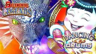 $88 SPIN MISTAKES HIGH LIMIT Dancing Drums 💃🏻🛢🛢 5 Elemental Legends 🐲 The Slot Cats 🎰😸😺
