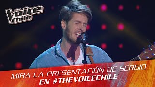 The Voice Chile | Sergio Lagos - Like I Can