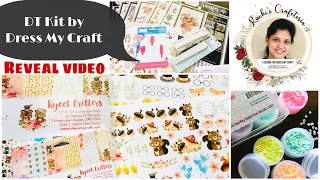 Dress My Craft Kit Reveal | Ruchi's Crafeteria | Crafty Haul