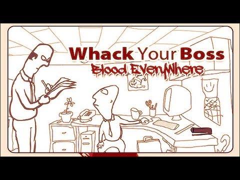 اللعبة الدموية : Whack Your Boss | شل مديرك ههه.! - YouTube