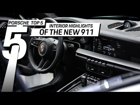 Porsche Highlights Top 5 Interior Features Of The New 911