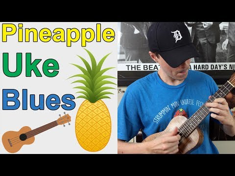 Learn a Melodic Blues Song on Ukulele  Advanced Blues Tutorial