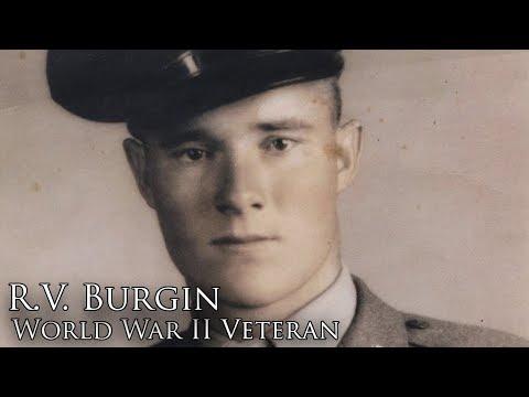 Sergeant R.V. Burgin