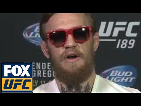Conor McGregor responds to Arnold Schwarzenegger's praise   UFC ON FOX