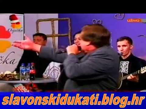 Krunoslav Kićo Slabinac i Slavonski dukati na Osječkoj televiziji 12.12.2010