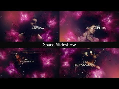 Space Slideshow | After Effects template