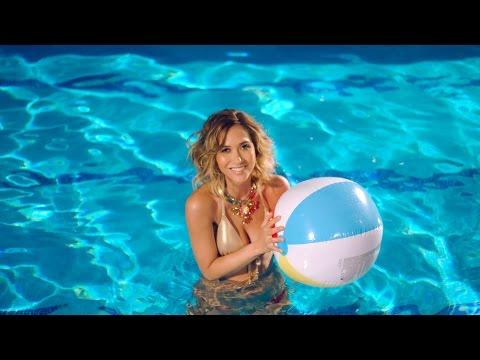 Myleene's underwater poolside photoshoot for Littlewoods - Behind The Scenes