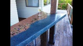 изготовление Бетонной столешницы, Своими Руками, 2018, Making Concrete Countertops