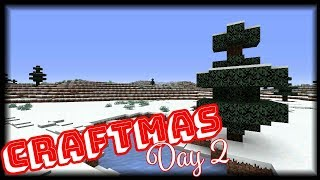 Craftmas Day 2! - Starting Our Village!