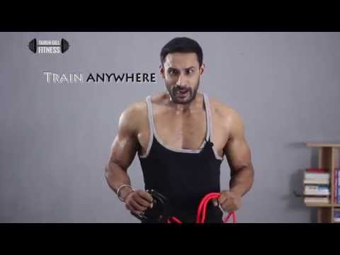 5 easy exercises with resistance band